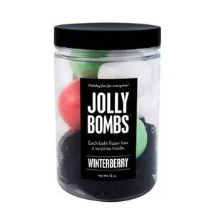 Da Bomb bath fizzers Jolly bath bomb winterberry